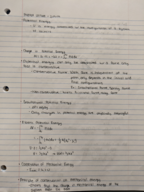 PHY 040 - Class Notes - Week 7
