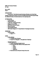 HDFS 202010 - Class Notes - Week 3