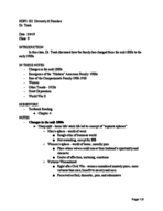 HDFS 202010 - Class Notes - Week 4