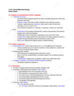UCLA - Life Science 7A 363744 - Class Notes - Week 8