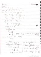 Calculus 640 - Class Notes - Week 6