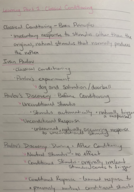 PSY - Class Notes - Week 5