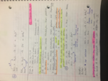 CHE 1113 - Class Notes - Week 10
