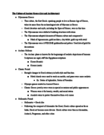 Cal State Fullerton - HIST 101A - Class Notes - Week 8