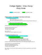 Jacksonville - MATH 104 - Study Guide