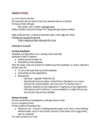 Nutrition and Health 11:709:255 - Class Notes - Week 7