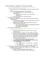 PSY 150A1 - Class Notes - Week 6