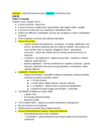 University of Hartford - Soc 110 - Class Notes - Week 9