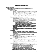 PSC 2302 - Study Guide