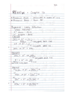 Texas State - Chem 1342 - Class Notes - Week 6