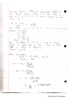 Calculus 640 - Class Notes - Week 9