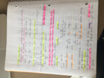 CHE 1113 - Class Notes - Week 11
