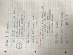 CHEM 122 - Class Notes - Week 8