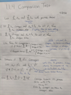 MATH 2414 - Class Notes - Week 10