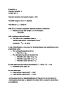 STAT 325 - Study Guide