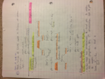 CHE 1113 - Class Notes - Week 12