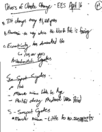EES 002 - Class Notes - Week 14