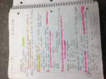 CHE 1113 - Class Notes - Week 13