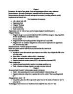 UCR - ECON 003 - Class Notes - Week 3