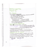 PSY 402 - Class Notes - Week 4