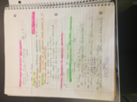 CHE 1113 - Class Notes - Week 14