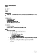 HDFS 202010 - Class Notes - Week 10