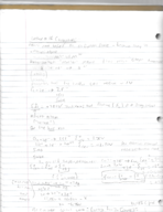 CHM 132 - Class Notes - Week 4