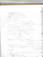CHM 132 - Class Notes - Week 7