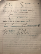 CHEM 3 - Class Notes - Week 13