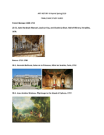 Who are the co architects of french baroque 1600-1715?