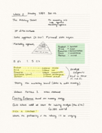 BUS 103 - Class Notes - Week 2