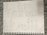 GSU - MATH - Class Notes - Week 14