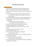 Cal State Fullerton - HIST 101A - Study Guide - Final