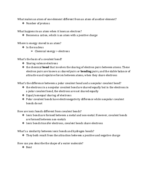 UOP - BIO 061 - Class Notes - Week 1