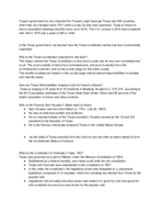 UTEP - POLS 2311 - Class Notes - Week 1