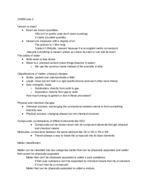 CSU - CHEM - Class Notes - Week 2