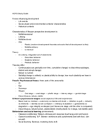 UGA - HDFS - Study Guide - Midterm