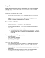 Syracuse - APM 391 - Class Notes - Week 3