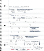 CHM 2046 - Class Notes - Week 4
