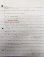 Oakland University - PHY 1610 - Class Notes - Week 2