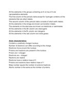 UIC - Chemistry 101 - Class Notes - Week 2