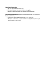 UIC - Chemistry 101 - Class Notes - Week 4
