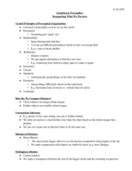 Brown U - CLPS 0010 - Class Notes - Week 3