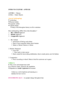 Concordia University - ANTH - Class Notes - Week 1