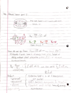 Cornell - PHYS 2213 - Class Notes - Week 3