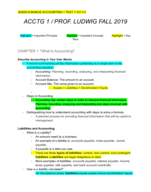 PCC - ACCT 1 - Study Guide - Midterm