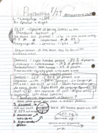 OK State - PSYC 1113 - Class Notes - Week 3
