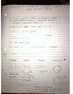 CHEM 301 - Class Notes - Week 2