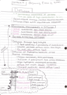 Biology 110 - Class Notes - Week 5