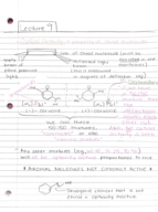 UIC - CHEM 232 - Class Notes - Week 5